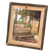 Fireside Lodge Hickory Log Wall Mirror; 32'' W