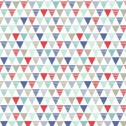 Arthouse Jester 21' x 3.95'' Wallpaper Roll; Red / Blue