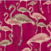 Arthouse Flamingo Beach Orchid 31.5' x 21'' Wallpaper Roll