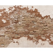 Brewster Home Fashions Distressed Brick 8' x 118'' 6 Piece Wall Mural Set
