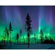 Brewster Home Fashions Aurora Borealis/Northern Lights 8' x 118'' 6 Piece Wall Mural Set
