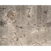 Brewster Home Fashions Broken Concrete 8' x 118'' 6 Piece Wall Mural Set