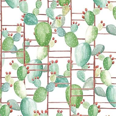 Coordonne Chumbera 33' x 18.9'' Wallpaper Roll; Blanco