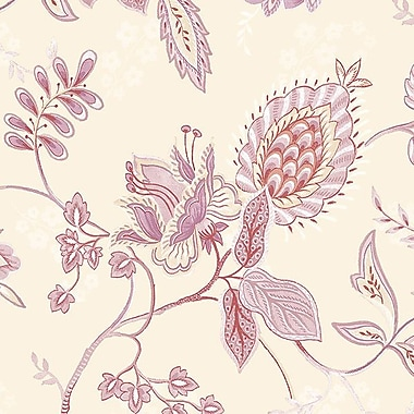 Norwall Wallcoverings Inc Grand Chateau 32.7' x 20.5'' Jacobean Floral Wallpaper