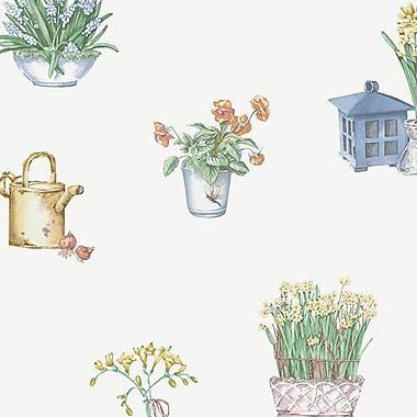 Norwall Wallcoverings Inc Kitchen Elements 32.7' x 20.5'' Gardening Sidewall Wallpaper