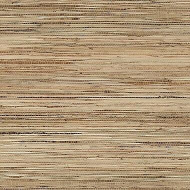 Norwall Wallcoverings Inc Decorator Grasscloth II 24' x 36'' Fine Raw Jute Wallpaper; White / Tan