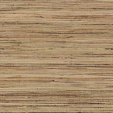 Norwall Wallcoverings Inc Decorator Grasscloth II 24' x 36'' Fine Raw Jute w/ Foil Wallpaper; Gold