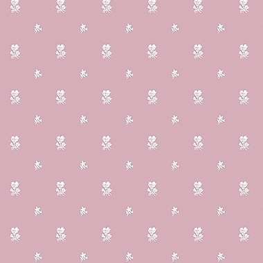 Norwall Wallcoverings Inc Grand Chateau 32.7' x 20.5'' Foulard Wallpaper; Mauve