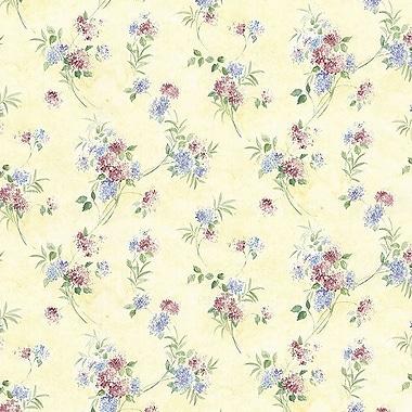 Norwall Wallcoverings Inc Pretty Prints IV 32.7' x 20.5'' Mini Spring Time Trail Wallpaper