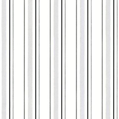 Norwall Wallcoverings Inc Shades 32.7' x 20.5'' Stripe Wallpaper; Black / Light Grey
