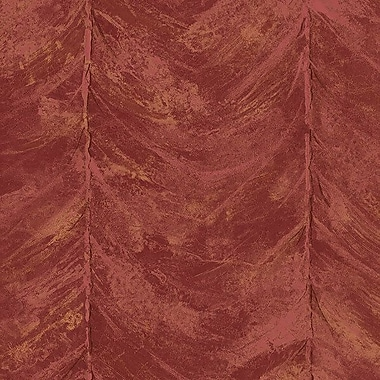 Norwall Wallcoverings Inc Illusions 32.7' x 20.5'' Swag Wallpaper; Red