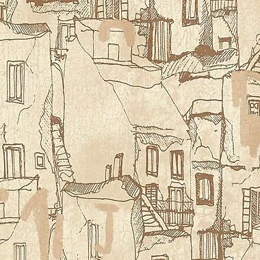 Norwall Wallcoverings Inc Kitchen Elements 32.7' x 20.5'' Tuscan Villas Wallpaper; Beige / Brown