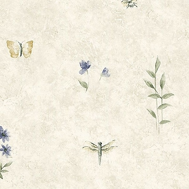 Norwall Wallcoverings Inc Kitchen Elements 32.7' x 20.5'' Summer Botanical Sidewall Wallpaper