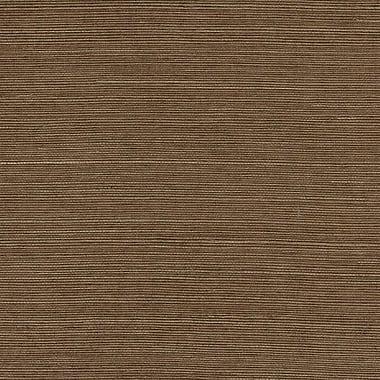 Norwall Wallcoverings Inc Decorator Grasscloth II 24' x 36'' Extra Fine Sisal Wallpaper; Brown