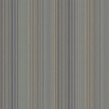 Norwall Wallcoverings Inc VIntage Damask 32.7' x 20.5'' Thin Stripe Wallpaper; Slate / Teal / Gold