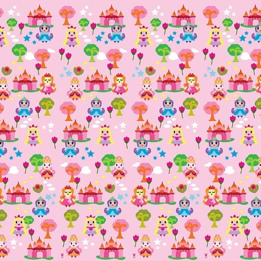 WallCandy Arts French Bull 2.17' x 26'' Princess Wallpaper