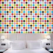 WallCandy Arts French Bull 2.17' x 26'' Polka Dot Wallpaper