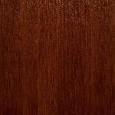 York Wallcoverings Modern Rustic 33' x 21'' Faux Wood Wallpaper; Cherry Wood Brown/Dark Brown Lines