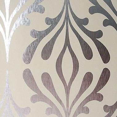 York Wallcoverings Candice Olson Inspired Elegance 33' x 20.5'' Foiled Wallpaper Roll