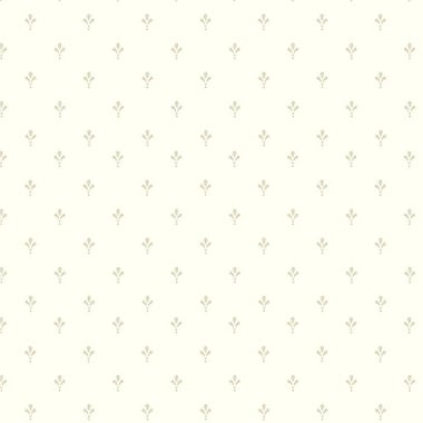 York Wallcoverings Black and White Ditsy 33' x 20.5'' Geometric Wallpaper; White and Tan