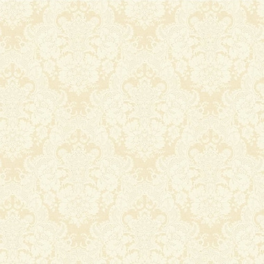 York Wallcoverings Document 33' x 20.5'' Damask 3D Embossed Wallpaper; Soft Gold