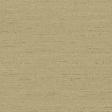 York Wallcoverings Riverside Park 33' x 20.5'' Solid 3D Embossed Wallpaper; Wheat Straw