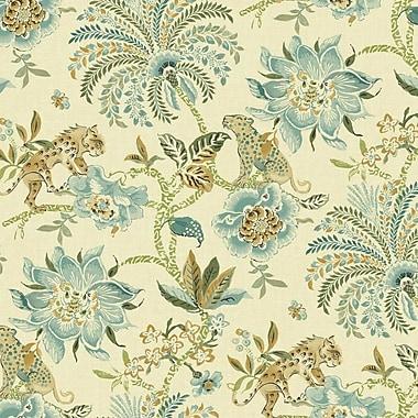 York Wallcoverings Williamsburg II 27' x 27'' Braganza Flower Texture Wallpaper