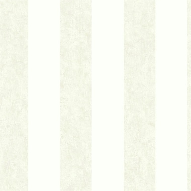 York Wallcoverings Impressions Stucco 33' x 20.5'' Stripes Wallpaper; Silver / White