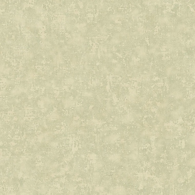 York Wallcoverings Metallic II 27' x 27'' Crackle Texture Distressed Roll Wallpaper; Pale Grey
