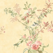 York Wallcoverings Brights 33' x 20.5'' Floral Roll Wallpaper