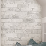 WallPops! Loft Brick Peel and Stick 18' x 20.5'' Wallpaper Roll