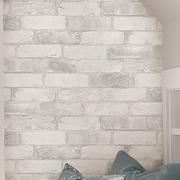 WallPops! Loft Brick Peel and Stick 18' x 20.5'' Wallpaper Roll