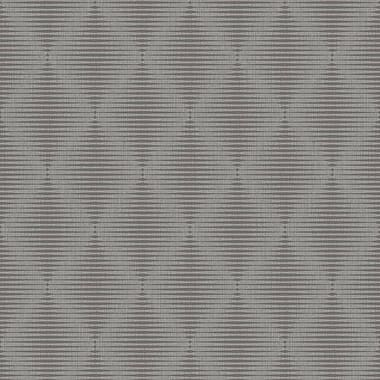 Walls Republic Geometric Modern Satin Luxury Pulse 32.97' x 20.8'' Trellis Wallpaper; Silver