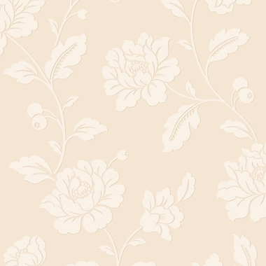 Classic Floral Traditional Metallic Pristine 32.97' x 20.8'' Floral and Botanical Wallpaper