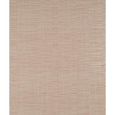 Walls Republic Winded Linear 32.97' x 20.8'' Solid Wallpaper; Caramel