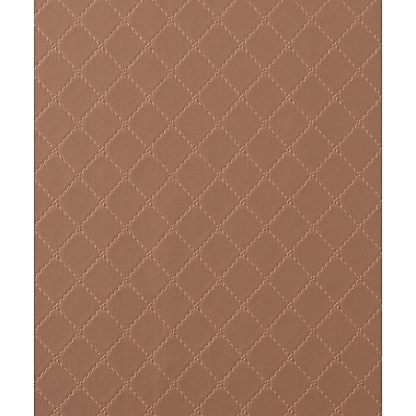 Walls Republic Ease Stitched 32.97' x 20.8'' Trellis Wallpaper; Brown