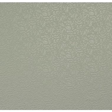 Walls Republic Gesture Lace 32.97' x 20.8'' Damask Wallpaper; Metallic