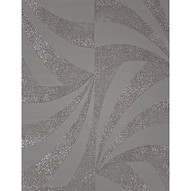 Walls Republic Modern Fireworks 32.97' x 20.8'' Geometric Wallpaper; Metallic