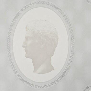 Walls Republic Cameo Ornamental 32.97' x 20.8'' Figural Wallpaper; White