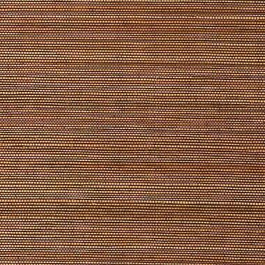 Walls Republic Duo Sisal Grasscloth 18' x 36'' Stripes Wallpaper; Bronze