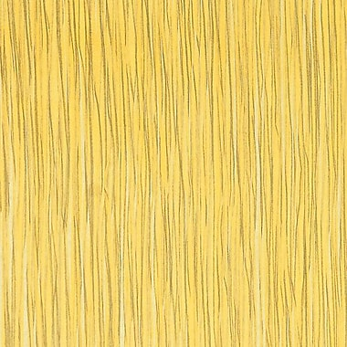 Walls Republic Paper Strokes Grasscloth 18' x 36'' Stripes Wallpaper; Yellow
