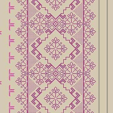 Walls Republic Homey Pixel 32.97' x 20.8'' Damask Wallpaper; Metallic