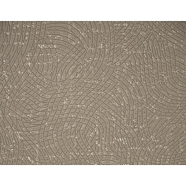 Walls Republic Swirls Curved 32.97' x 20.8'' Abstract Wallpaper; Ash Brown