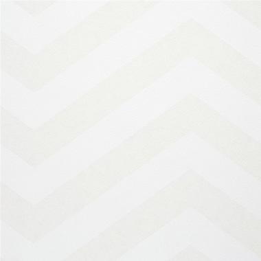 Walls Republic 32.97'' x 20.8'' Chevron Stripe Wallpaper; Beige