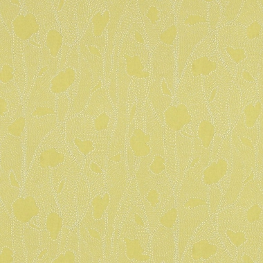 Walls Republic 32.97'' x 20.8'' Floral Silhouette Wallpaper; Yellow