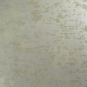 Walls Republic Chic Glamorous Rustic Metallic 27.5'' x 27.5'' Polka dot Wallpaper; Beige
