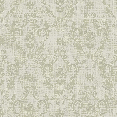 Walls Republic Symphonic 32.97'' x 20.8'' Damask Wallpaper; Taupe