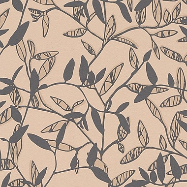 Walls Republic Spring 32.97'' x 20.8'' Floral and botanical Wallpaper; Beige