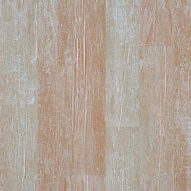 Walls Republic 32.97'' x 20.8'' Faux Wood Shuffle Wallpaper; Mahogany