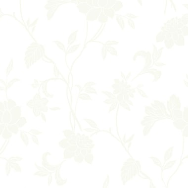 Walls Republic Arouse 32.97'' x 20.8'' Floral and botanical Wallpaper; Pearl